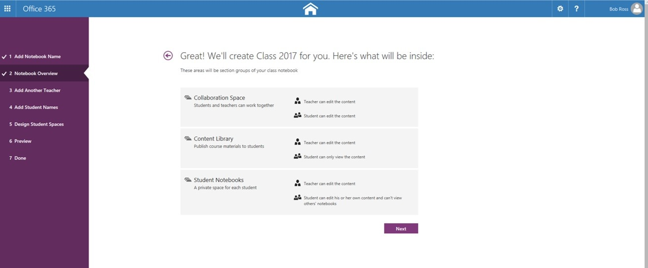 how to create onenote notebook