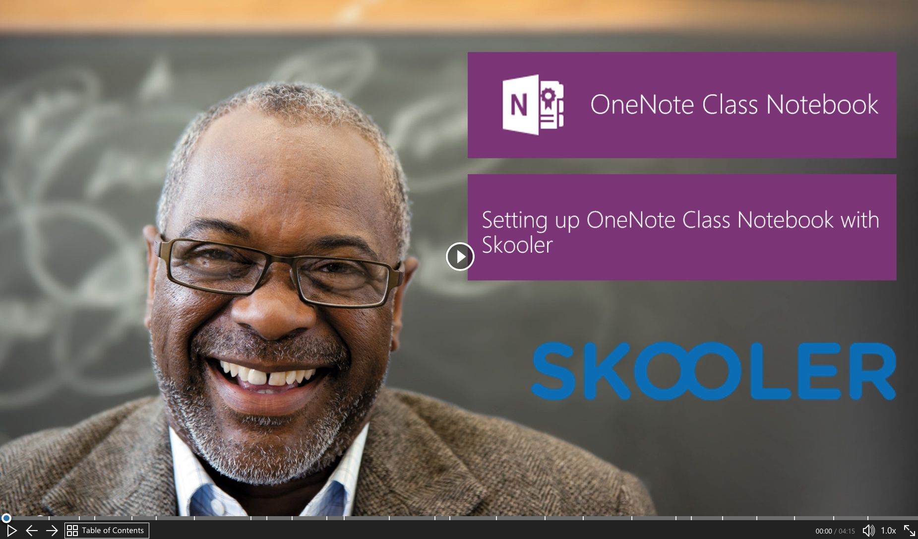 OneNote add-in with grade scales, LMS integration and stickers